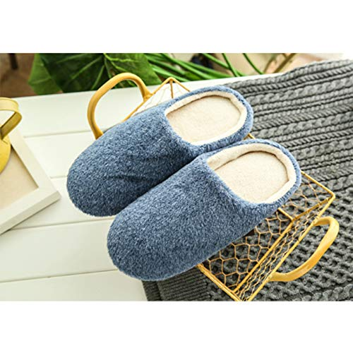 44 Morbido Donna Interno Inverno 45 42 Calde Pantofole Esterno Jingyuu Casa Pantofole Peluche 43 F0wqHT7x