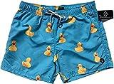 Official Molokai Swim Trunks and Shorts (Rubber Ducks, Medium)