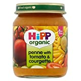 Hipp Organic Penne With Tomato & Courgette 6+ Months 125G - Pack of 6