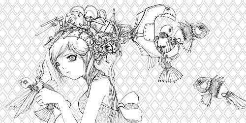 Pop Manga Coloring Book: A Surreal Journey Through a Cute, Curious ...