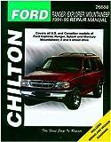 Chilton Ford Explorer/Ranger/Mountaineer 1991-1999 Repair Manual (26688)