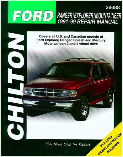 Chilton Ford Explorer/Ranger/Mountaineer 1991-1999 Repair Manual (26688)