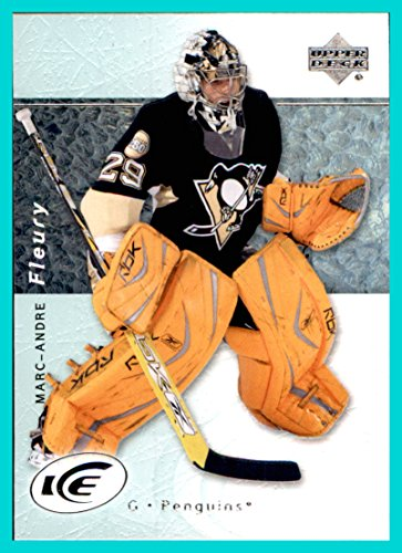 2007-08 Upper Deck Ice #15 Marc-Andre Fleury PITTSBURGH PENGUINS Stanley Cup Champions Goaltender currently 2017-18 Las Vegas Golden (08 Upper Deck Ice)