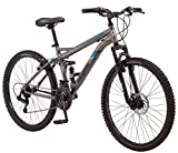 Mongoose Cache 26'' Men's Mountain Bike, Grey