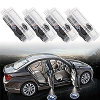 EEEKit 4 Pack Car Door LED Logo Laser Projector Ghost Shadow Lights for BMW E90 E91 E92 E93 E70 E71 E60 E61 E63 F10 F11 from EEEKit