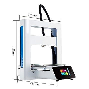 ZHQEUR A3S Impresora 3D Totalmente Metal Fácil Montaje Alta ...
