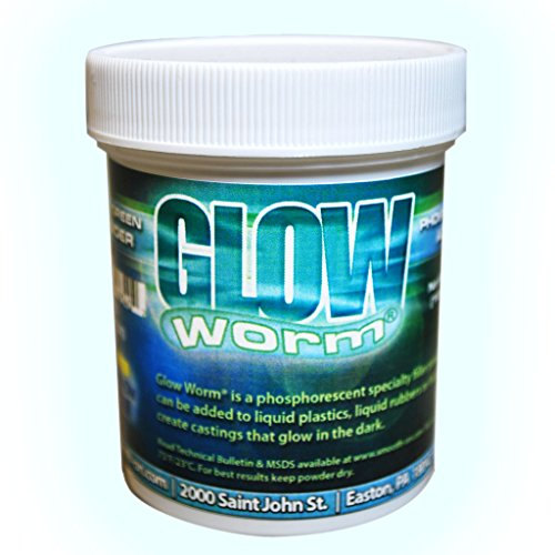 - Glow Worm Blue/Green Glow-In-The-Dark Powder - 6 oz.