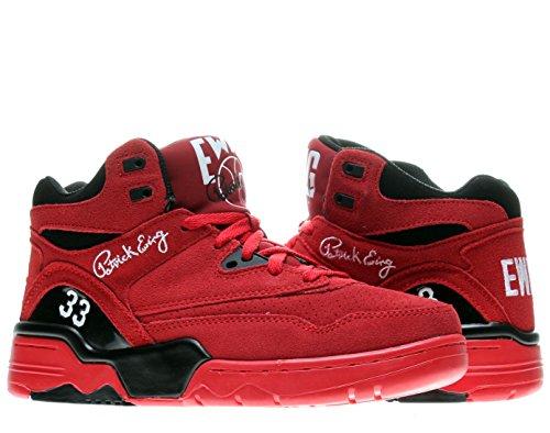 Patrick Ewing Athletics Ewing Guard Mens Basketball Shoes 1EW90119-602 Red Black-White 9 M US