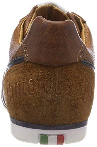 blu ginnastica pelle Scarpe scuro da basse D'ora Uomo Vasto in uomo Pantofola q7XwFvHn