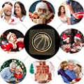 Christmas Present Natural Wooden Basketball Night Lamp for Kids, Acrylic Baby Table Lamp for Breast-Feeding with 3D Illusion, Perfect Birthday Gift USB Line Safety Desk Lamp Decoration Light
