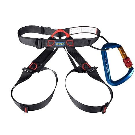 51iuURUZ9dL._SX466_ amazon com ayamaya safety climbing harness for women man 30kn