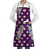 Huadduo Bingo I Need One More Number Unisex Kitchen Aprons Chef Apron Cooking Apron Barbecue Aprons