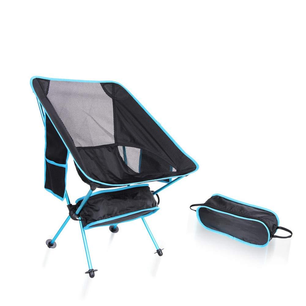 Klappbarer Campingstuhl Ultra Light Gartenstuhl Camping Stuhl Klapp Angeln Stuhl Stuhl Angeln Gartenstuhl Mit Tragetasche Für Outdoor-aktivitäten, Camping Stuhl Tragen (Farbe   Grün) 6e003e
