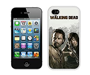 The Walking Dead 25 White Fantastic Style Design iPhone 4S Case