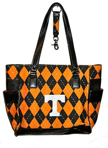 r25 Tennessee Volunteers NCAA TOTE Argyle Hand Bag Purse college team logo