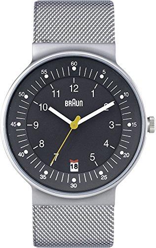 Braun BN0082GYSLMHG Classic Stainless Bracelet