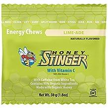 Honey Stinger Organic Energy Chews - 12 Pack Limeade-Caffeinated, One Size