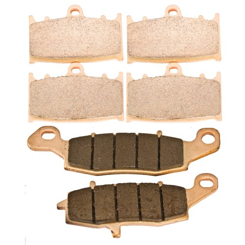 front and rear sintered brake pads