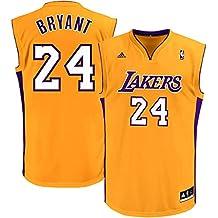 Kobe Bryant Los Angeles Lakers Yellow Kids Replica Jersey