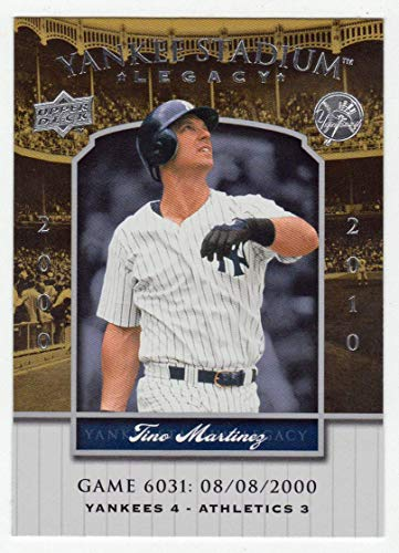 (Tino Martinez (Baseball Card) 2008 Upper Deck Yankee Stadium Legacy Collection # 6031 Mint)