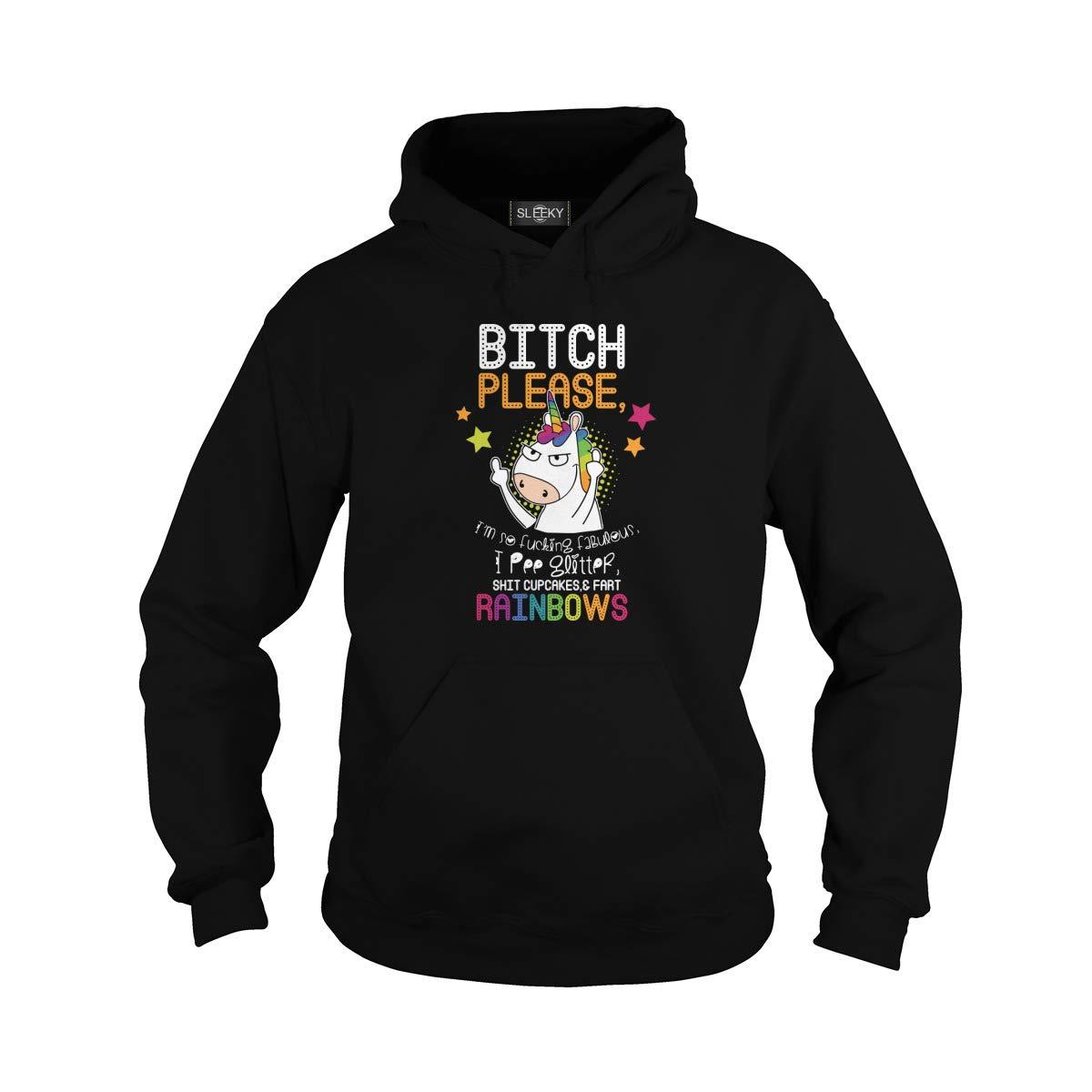 Bitch Please Im So F Fabulous Pee Glitter Shit Cupcakes Fart Rainbow Unicorn 6167 Shirts