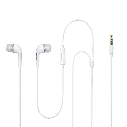 samsung 3 5 mm jack in ear stereo headset with volume: amazon co uk:  electronics