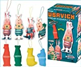 Usavich mascot cleaner USAVICH character goods Candy Kabaya (all four Furukonpu Set) (Candy Toys & gum)