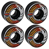 54Mm 80Hd Charger Classic Black Orange/Yellow Fade Skateboard Wheels