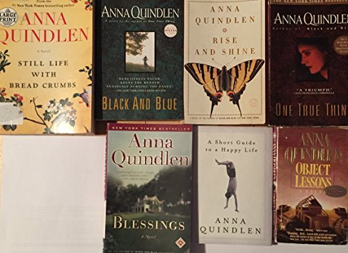 Anna Quindlen Paperback Fiction Collection 7 Book Set (Anna Quindlen One True Thing)