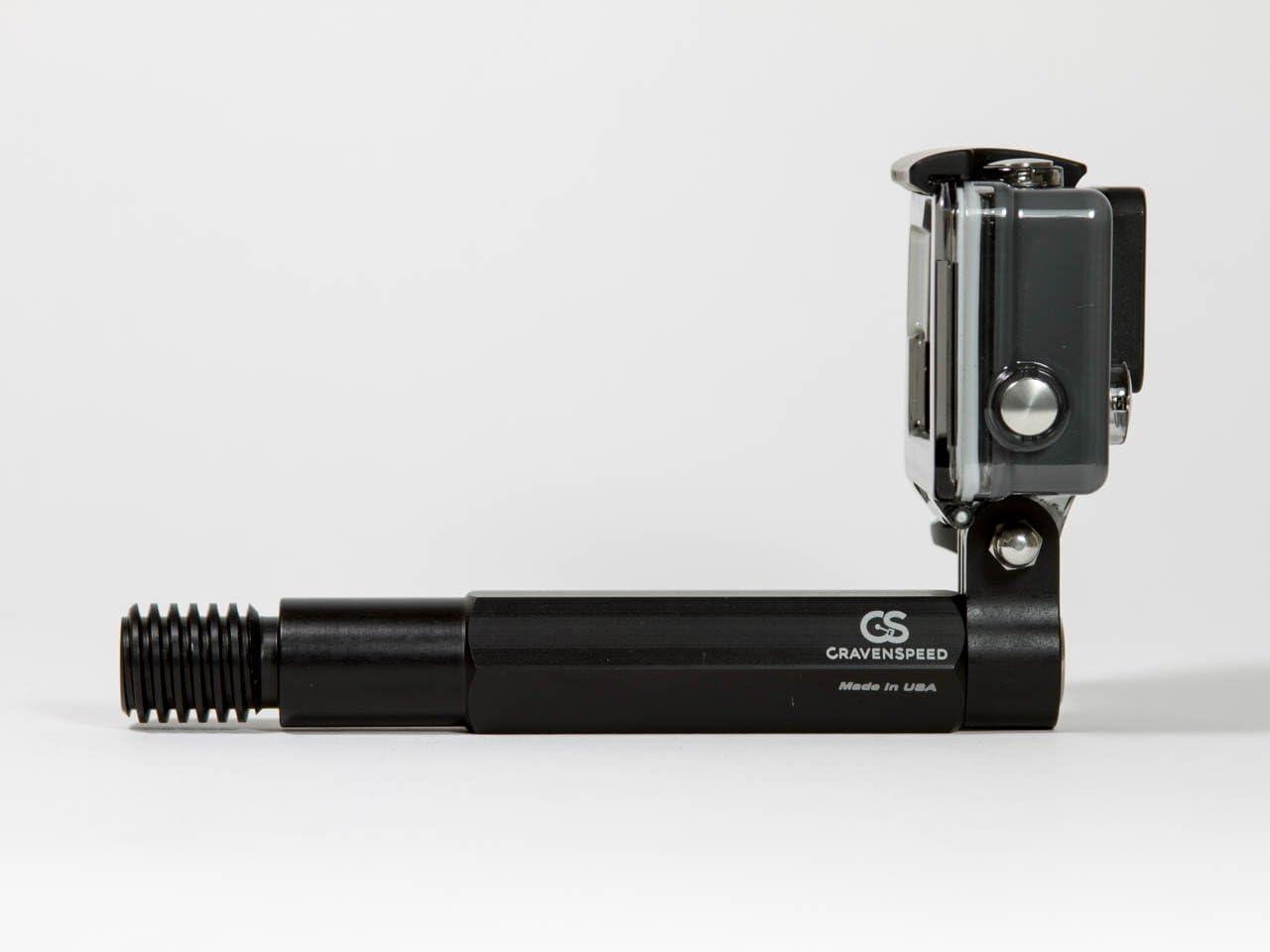 CravenSpeed Easy Bolt-On Mount for GoPro Cameras for Mini Cooper 2001-2013 R50, R56 Front Bumper Action Cam Mount