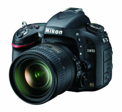 Nikon D610 24.3 MP CMOS FX-Format Digital SLR Camera with 24-85mm f/3.5-4.5G ED VR...