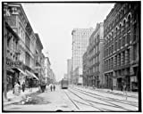 Photo: Main Street,commercial facilities,street,buildings,Memphis,Tennessee,TN,c1906