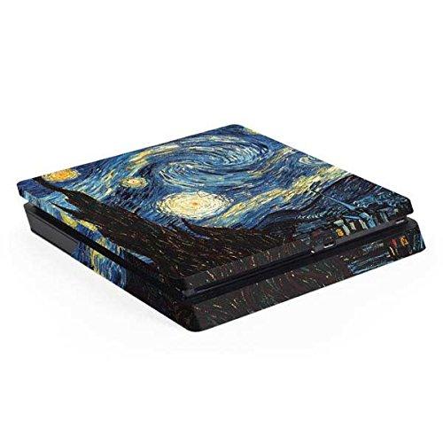 (Van Gogh PS4 Slim (Console Only) Skin - van Gogh - The Starry Night | The Classics X Skinit Skin)
