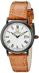 Steinhausen Women's WWL493LWTA Dunn Luxe Analog Display Swiss Quartz Beige Watch