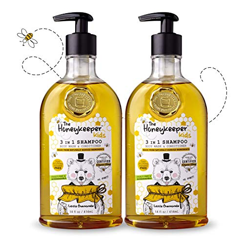 Honeykeeper Kids Shampoo Little Chamomile, 14 fl. oz. 2pk