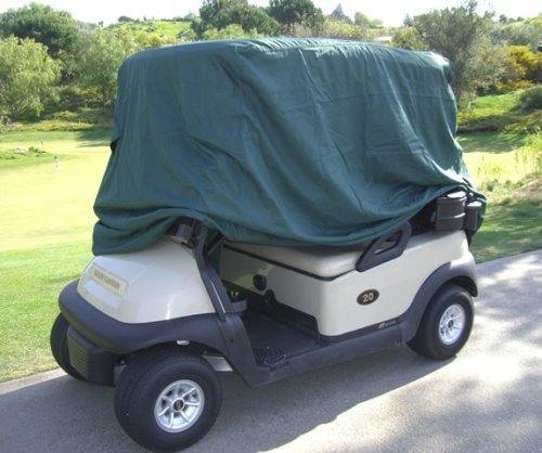 """Gas Cap Drive (Ohmotor Golf Cart Cover Universal Waterproof Sun Dust Proof Electrical / Gas Golf Cars Cover, Fits for Enclosure Club Car, EZGO, Yamaha Drive (Size: 95"""" X 48"""" X 66"""", Green))"""