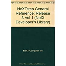 NeXTSTEP General Reference, Release 3 by NeXT Computer Inc (1992-10-03)