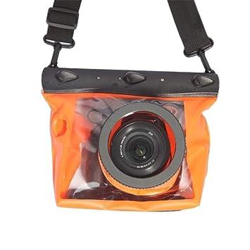 Centechia - Funda Impermeable para cámara de Buceo subacuática ...