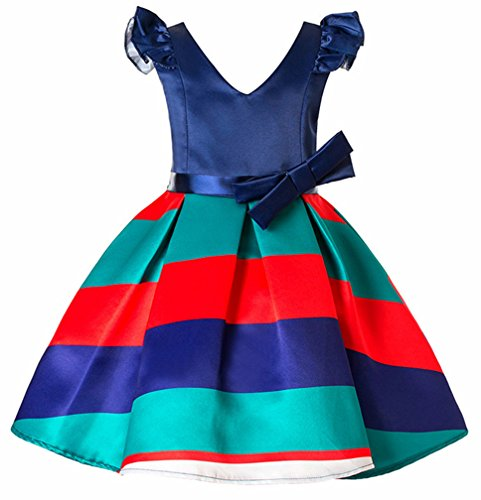 OURDREAM Flower Girl Dress Princess Costume Lush Ruffles