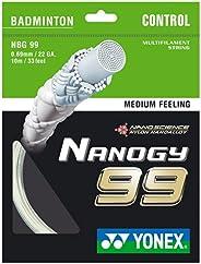 Yonex Nanogy NBG99 Badminton String - White