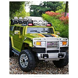 Electric-Battery-operated-Ride-On-Car-For-Kids-HUMMER-Style-Model-HJJ255-A-Remote-Control-Green