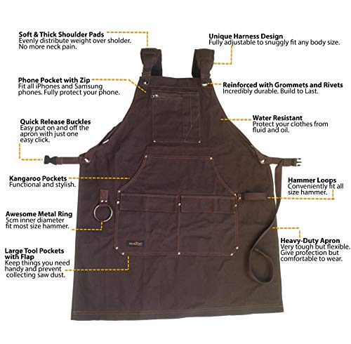 Buy woodworking apron