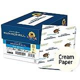 Hammermill Printer Paper, Colors Cream, 20lb, 8.5 x 11, Letter - 10 Pack / 5,000 Sheets (168030C)