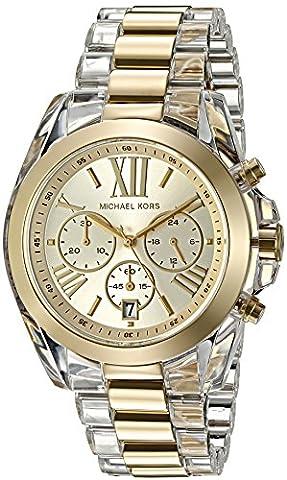Michael Kors Women's Bradshaw Gold-Tone Watch MK6319 (Michael Kors Bradshaw Watch 43mm)