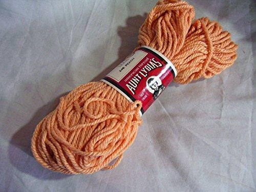 Aunt Lydia's Peach (Light Orange) Heavy Rug - Peaches Aunt