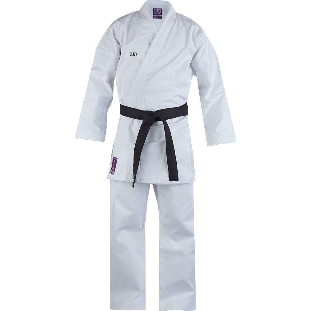 Blitz Zanshin Middleweight Traje de Karate, Bebé-Niños ...