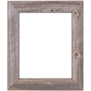 16x20 35 extra wide reclaimed rustic barnwood wall frame no plexiglass or back