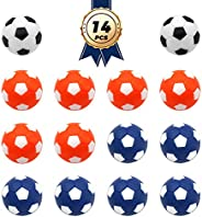 Foosball Balls Official Table Soccer Replacement Balls Mini Foosball Accessory Multicolor 36mm