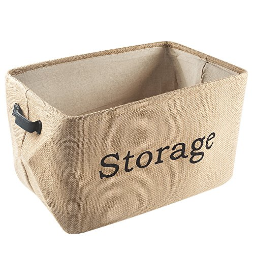 Tosnail Collapsible Storage Nursery Baskets