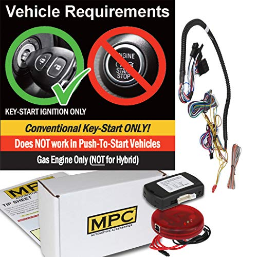 MPC Plug-n-Play OEM Remote Activated Remote Start Kit for 2014-2018 Chevrolet Silverado 1500 - with T-Harness and Programmer